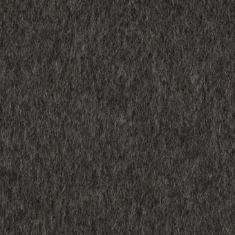 ウール&カシミア×無地(チャコールグレー)×ビーバー