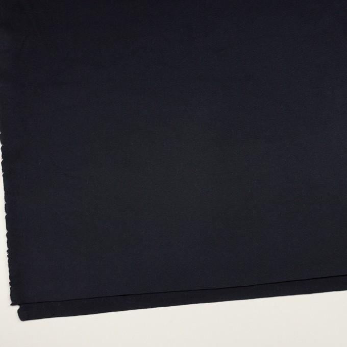 ウール&カシミア×無地(ダークネイビー)×ビーバー イメージ2