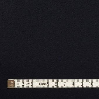 ウール&カシミア×無地(ダークネイビー)×ビーバー サムネイル4