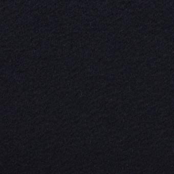 ウール&カシミア×無地(ダークネイビー)×ビーバー