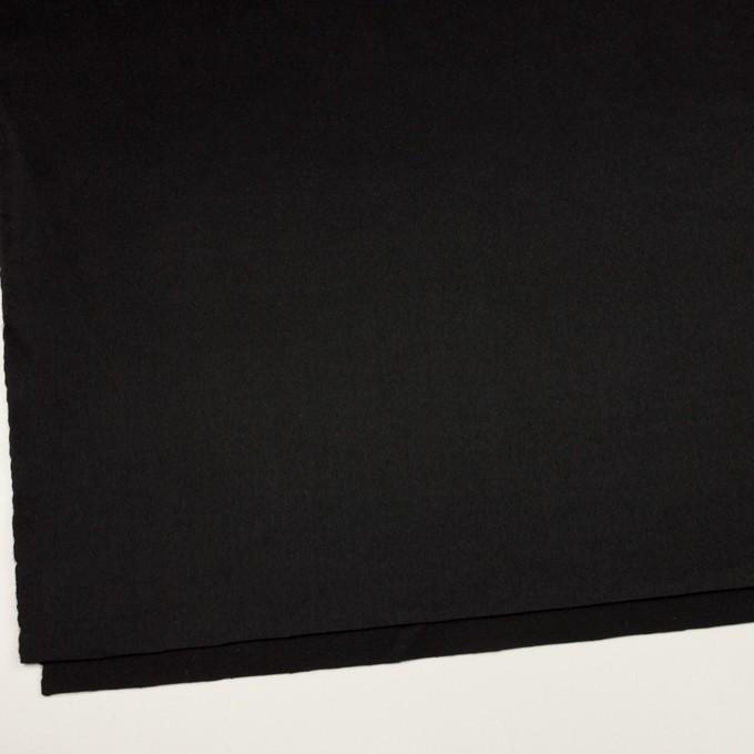 ウール&カシミア×無地(ブラック)×ビーバー イメージ2
