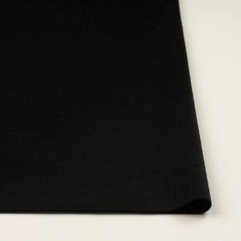 ウール&カシミア×無地(ブラック)×ビーバー サムネイル3