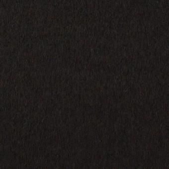 ウール&カシミア×無地(ブラック)×ビーバー サムネイル1
