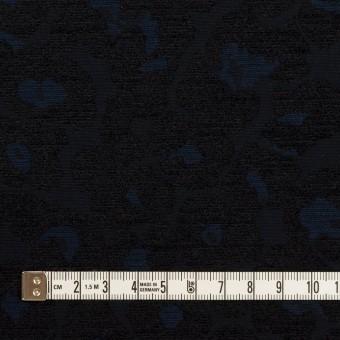 ポリエステル&コットン×レオパード(ダークネイビー)×ジャガード サムネイル4