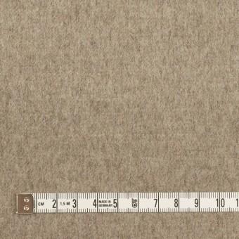 ウール×無地(グレイッシュベージュ&アッシュカーキグリーン)×Wフェイスフラノ サムネイル4