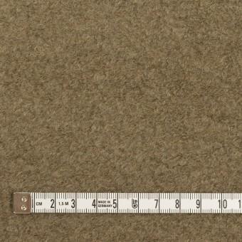 コットン&ウール×無地(カーキ)×ループニット サムネイル4