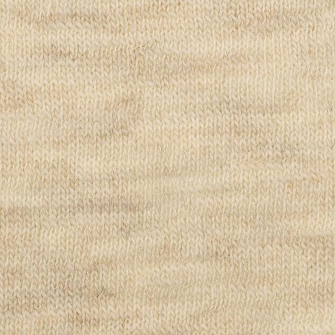 ウール×無地(エクリュ)×天竺ニット_全3色 イメージ1