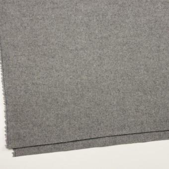 ウール×無地(グレー)×二重織 サムネイル2