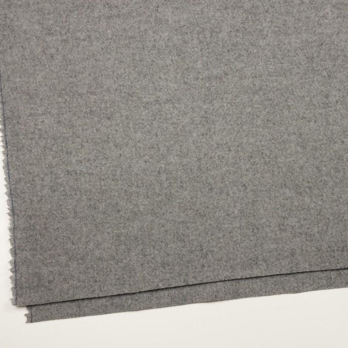 ウール×無地(グレー)×二重織 イメージ2