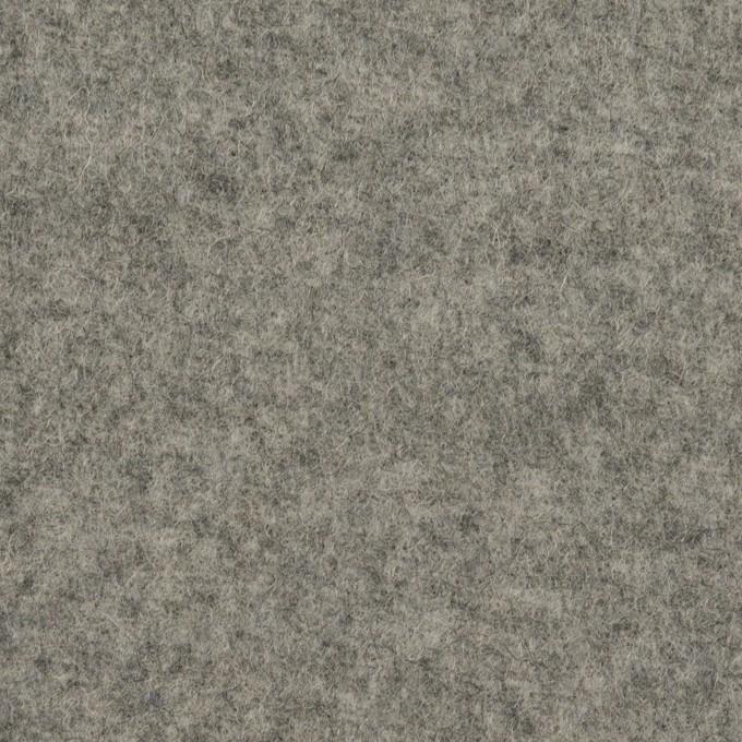 ウール×無地(グレー)×二重織 イメージ1