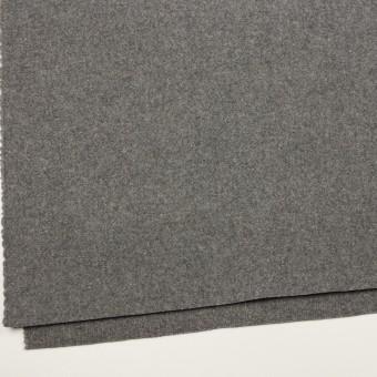 ウール&ナイロン×無地(グレー)×二重織 サムネイル2