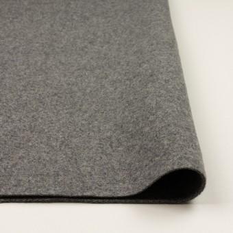 ウール&ナイロン×無地(グレー)×二重織 サムネイル3