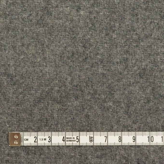 ウール&ナイロン×無地(グレー)×二重織 イメージ4