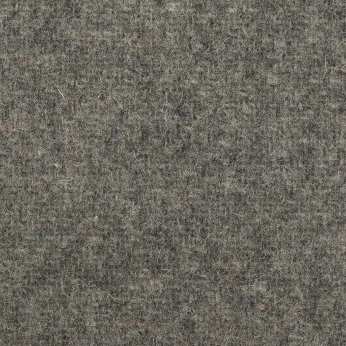 ウール&ナイロン×無地(グレー)×二重織 イメージ1