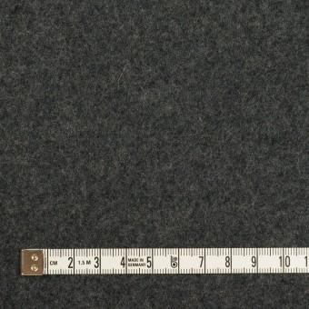 ウール×無地(グレー&チャコールグレー)×Wフェイスフラノ サムネイル6