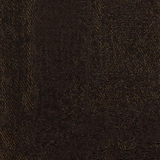 ポリエステル×幾何学模様(ブラウン)×ジャガード_全2色 イメージ1