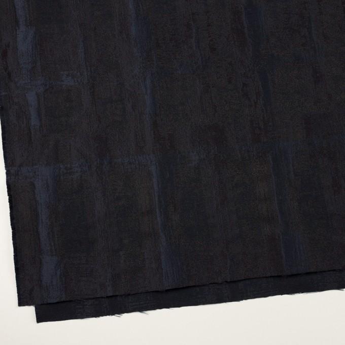 ポリエステル×幾何学模様(ネイビー)×ジャガード_全2色 イメージ2