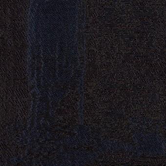 ポリエステル×幾何学模様(ネイビー)×ジャガード_全2色