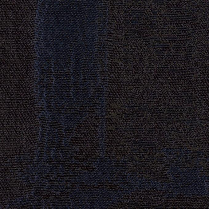 ポリエステル×幾何学模様(ネイビー)×ジャガード_全2色 イメージ1