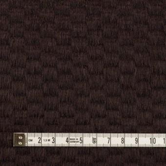 ウール&アンゴラ×無地(チョコレート)×シャギー_全2色 サムネイル4