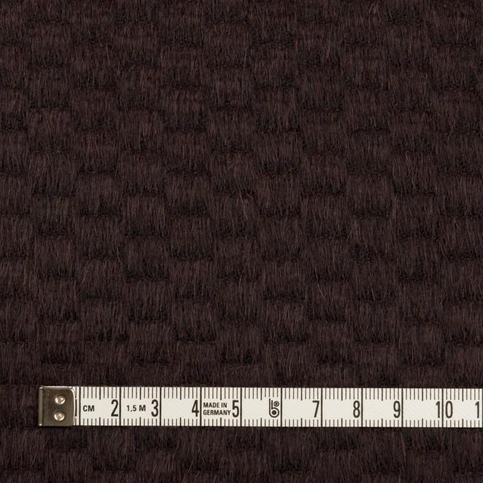 ウール&アンゴラ×無地(チョコレート)×シャギー_全2色 イメージ4