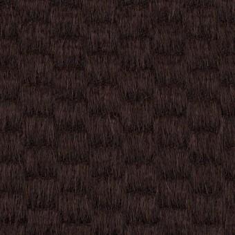 ウール&アンゴラ×無地(チョコレート)×シャギー_全2色