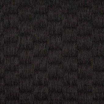 ウール&アンゴラ×無地(ブラック)×シャギー_全2色