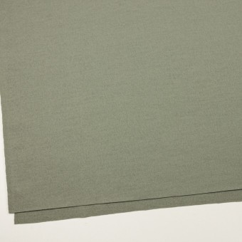 ウール×無地(セージグリーン)×圧縮ニット サムネイル2