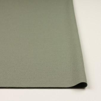 ウール×無地(セージグリーン)×圧縮ニット サムネイル3