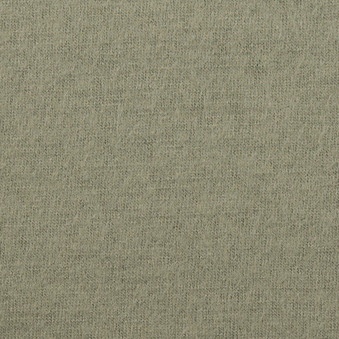 ウール×無地(セージグリーン)×圧縮ニット イメージ1
