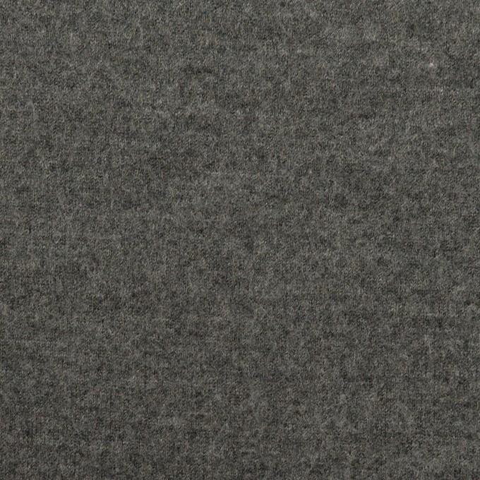 ウール×無地(チャコールグレー)×圧縮ニット イメージ1