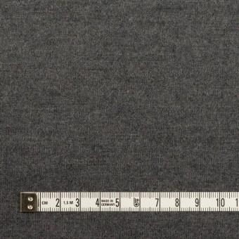 ウール×無地(チャコールグレー)×天竺ニット サムネイル4