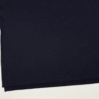 ウール&ナイロン×無地(ネイビー)×天竺ニット サムネイル2