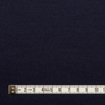 ウール&ナイロン×無地(ネイビー)×天竺ニット サムネイル4