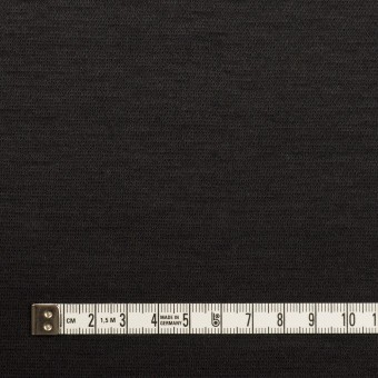ウール&ナイロン×無地(チャコールブラック)×かわり編みニット サムネイル4