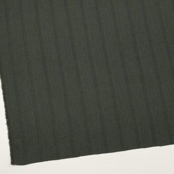 コットン×ストライプ(カーキグリーン)×ヘリンボーン サムネイル2
