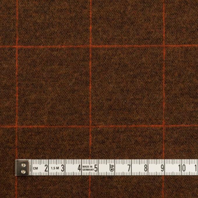 ウール&アクリル混×チェック(レンガ)×Wニット イメージ4
