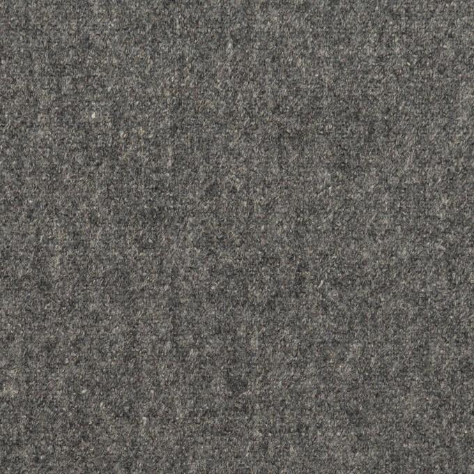 ウール×無地(グレー)×ツイード イメージ1