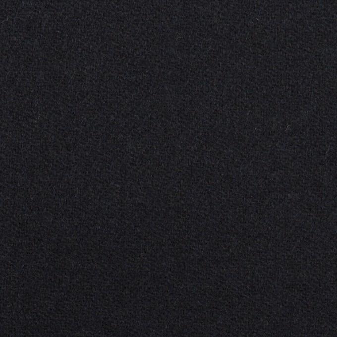 ウール×無地(ダークネイビー)×ツイード イメージ1