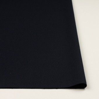 ウール&ポリウレタン×無地(ダークネイビー)×ツイードストレッチ サムネイル3