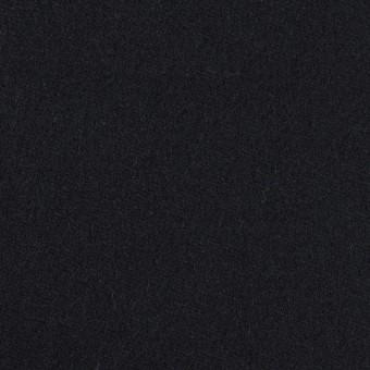 ウール&ポリウレタン×無地(ダークネイビー)×ツイードストレッチ
