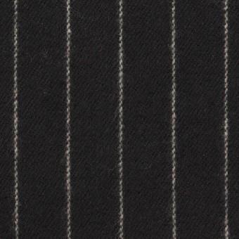 コットン×ストライプ(ブラック)×ビエラ_全2色