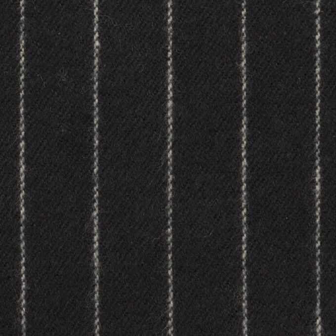 コットン×ストライプ(ブラック)×ビエラ_全2色 イメージ1