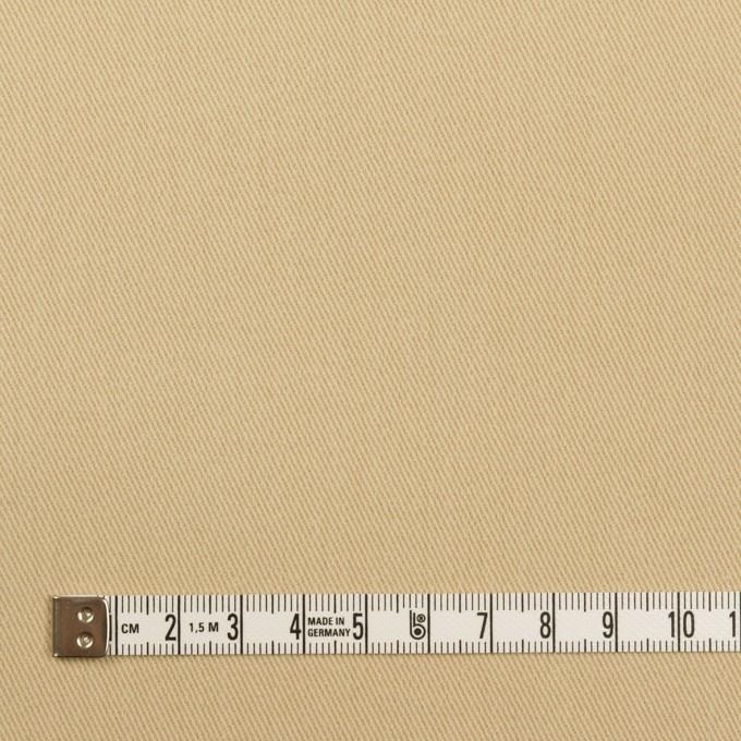 コットン&ポリウレタン×無地(カスタード)×ビエラストレッチ イメージ4