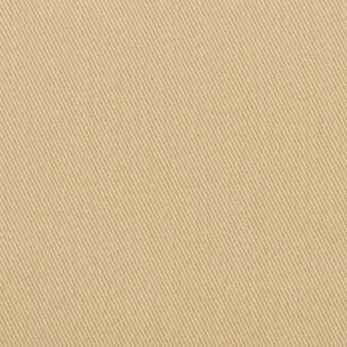 コットン&ポリウレタン×無地(カスタード)×ビエラストレッチ イメージ1