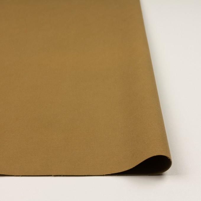コットン&ポリウレタン×無地(カーキベージュ)×フランネル・ストレッチ_全3色 イメージ3