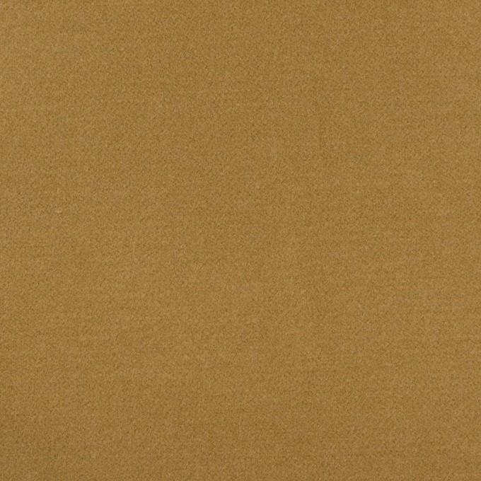 コットン&ポリウレタン×無地(カーキベージュ)×フランネル・ストレッチ_全3色 イメージ1
