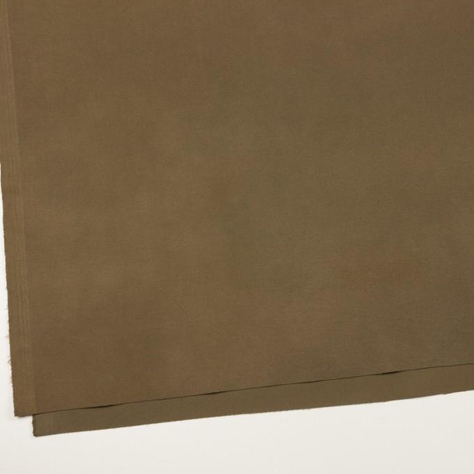 コットン&ポリウレタン×無地(カーキブラウン)×フランネル・ストレッチ_全3色 イメージ2