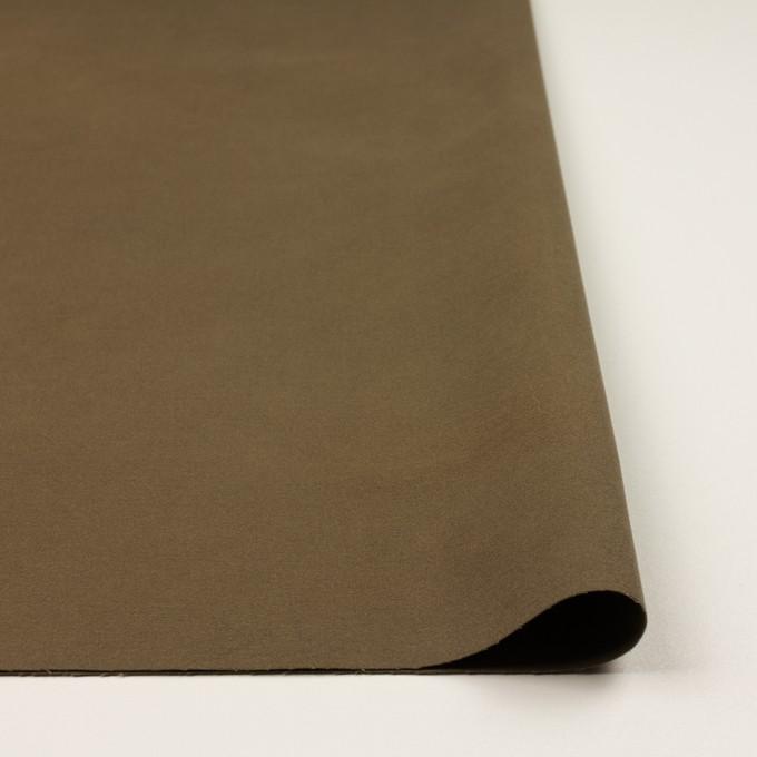 コットン&ポリウレタン×無地(カーキブラウン)×フランネル・ストレッチ_全3色 イメージ3