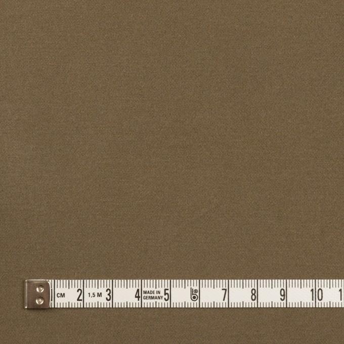 コットン&ポリウレタン×無地(カーキブラウン)×フランネル・ストレッチ_全3色 イメージ4